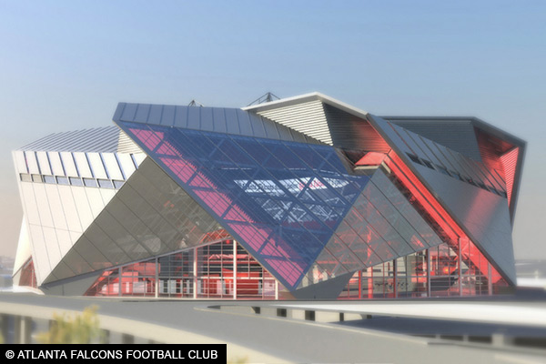 Atlanta Falcons New Stadium Concept