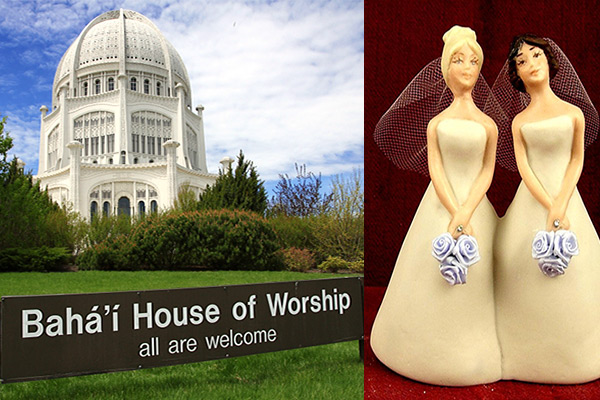 Bahai religion and homosexuality