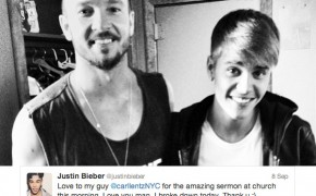 "Justin Bieber ""Broke Down"" at Hillsong NYC Church Service Sunday"