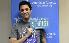 "New Jersey MVC Reverses Its Decision; Approves Atheists Request For ""ATHE1ST"" Plate"