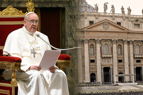 Pope Frances Calls Out Catholic Church