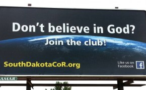 'Don't Believe in God' Billboards Cause Holy War in South Dakota