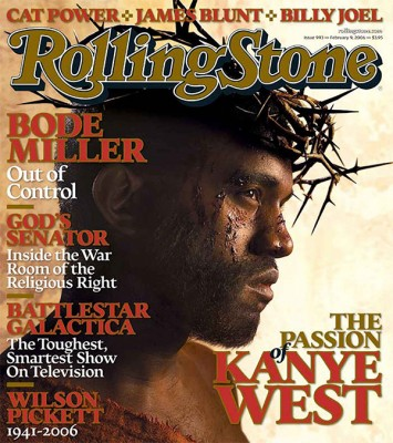 Kanye West Rollingstone Cover