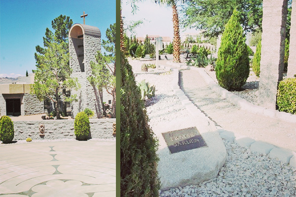 Labyrinth Prayer Garden in Boulder City, Nevada