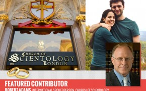 First Official UK Wedding in a Scientology Church
