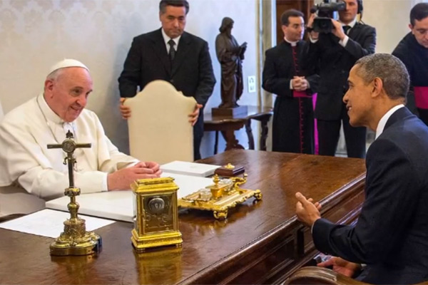 Pope Francis And Obama Meet