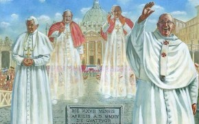 The Day of Four Popes: Popes John XXIII and John Paul II Become Newest Saints