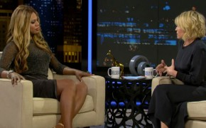 "Laverne Cox of ""Orange is the New Black"" Proclaims Her Love for Jewish Men on ""Chelsea Lately"""