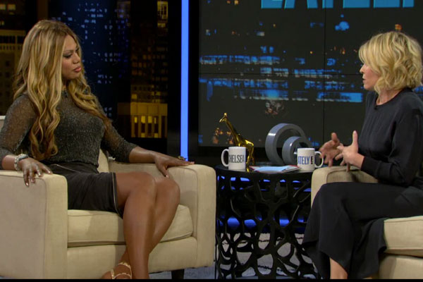 Laverne Cox on Chelsea Lately