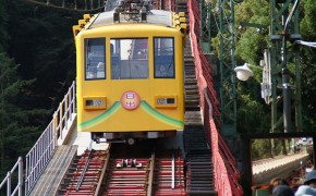 This Japanese Vacation Spot Features a Man Who Conducts Both Trains and Shinto Holy Rites
