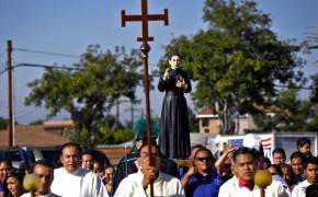 Amidst Illegal Immigration Protests, Saint Toribio, Latino Hero, Visits Los Angeles