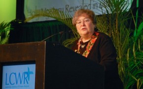 Elizabeth Johnson Receives Women's Religious Award, Upsets Church