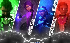 Bible-Inspired Superhero Team Faith Kids Will Empower Children
