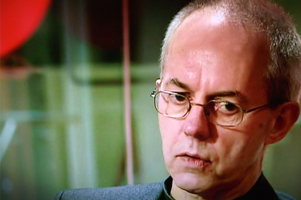 Justin Welby Doubts About God