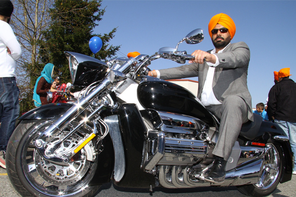 Sikh Motorcycle