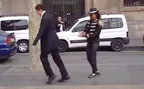 Michael Jackson Impersonator's Unlikely Mormon Dance Partner [Video]