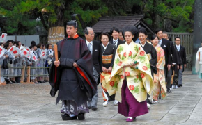 Princess Noriko Leaves Title for Love in Marriage to Shinto Priest