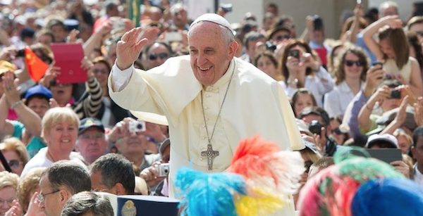 The Pope's Top 10 List and tips for a happy life.