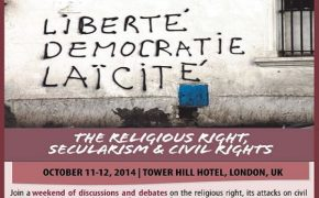 Secular 2014 Conference to Focus on the Religious Right, Secularism and Civil Rights