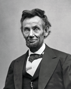 President Abraham Lincoln is responsible for decreeing the first nationwide observance of Thanksgiving.