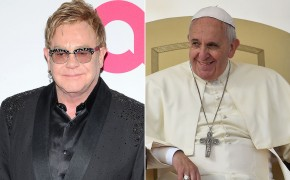 Elton John on Religion: Describes Pope Francis as 'My Hero,' and 'Fearless'
