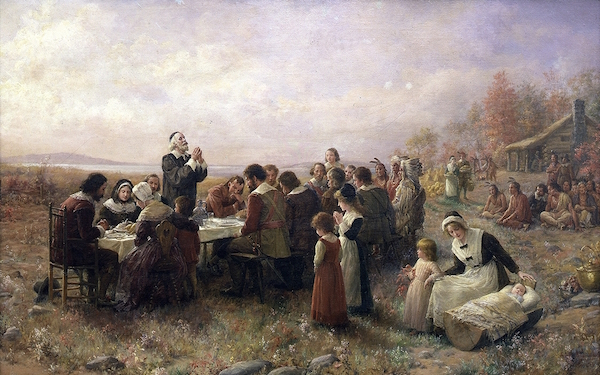 The religious origins of Thanksgiving.