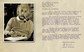 Albert Einstein Letter on Jewish Heritage Sold for $12,500 at Auction
