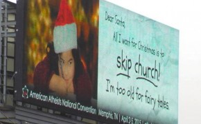 Atheists Challenge Christmas with New Billboard Campaign