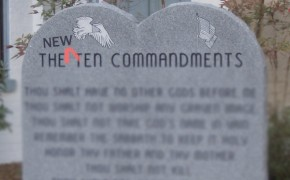 Atheists Write Their Own 10 Commandments