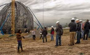 Construction of Baha'i Temple in Chile Making Great Progress