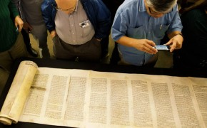 Southern California Evangelical Seminary Receives Rare Hebrew Torah Scroll