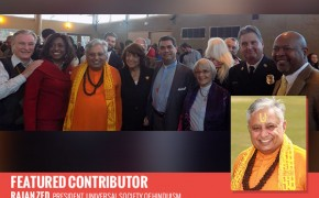 Hindu Ritual performed as part of Martin Luther King, Jr. Interfaith Service in Nevada