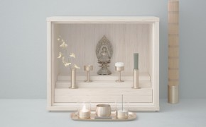 Beautifully minimal Buddhist micro-altars are designed for mourning in a modern world