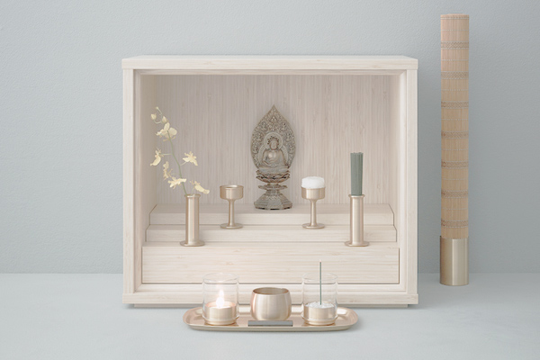 Beautifully minimal Buddhist micro-altars are designed for mourning ...