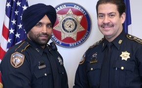 Houston makes history with largest sheriff's office to allow Sikh Officers to wear their turbans and beards on duty