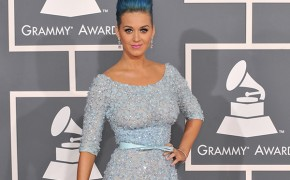 On the Grammy Awards red carpet, Katy Perry reveals she prayed to God before her Super Bowl halftime show