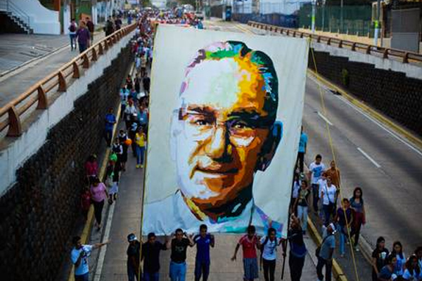 an overview of the death of oscar romero and the el salvadoran catholicism Decades later, archbishop oscar romero will be made a saint  considers  romero a model for the roman catholic church and had approved  so much  adversity, said oscar dominguez, president of el salvador corridor,.