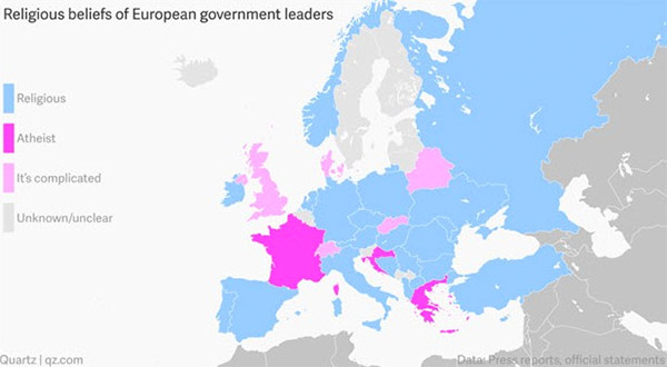 religious beliefs european government leaders