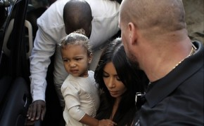 Kim Kardashian and Kanye West Baptize Daughter in Jerusalem