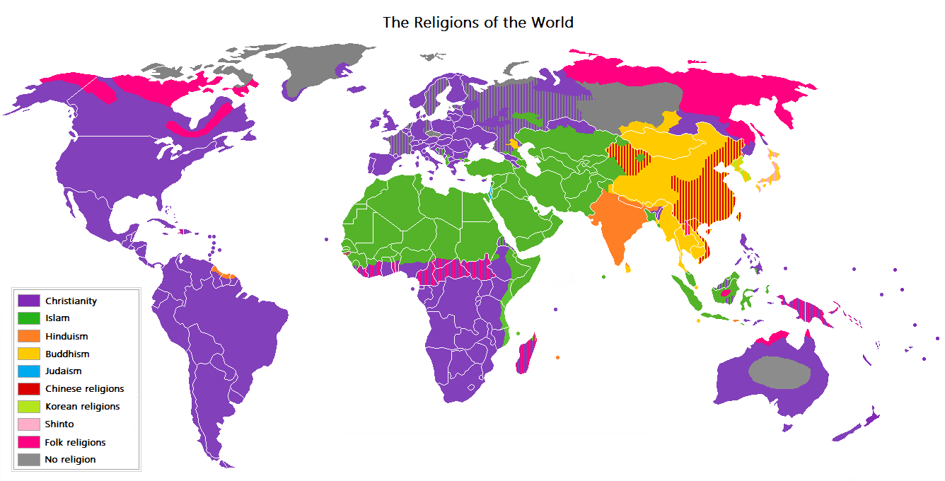 Image result for religions of the world