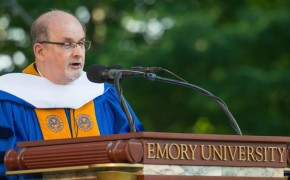 Salman Rushdie gives controversial commencement speech at Emory