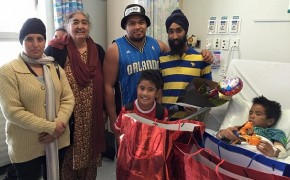 How A Sikh Man Used His Turban to Save A Child's Life
