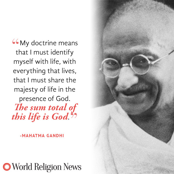 Gandhi Discusses The Independence Of India And His Struggles With - Gandhi religion