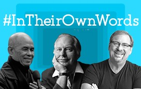 New #InTheirOwnWords Interviews: Thich Nhat Hanh, L. Ron Hubbard, and Rick Warren