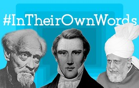 New #InTheirOwnWords Interviews: Gerald Gartner, Joseph Smith, and Mirza Masroor Ahmad
