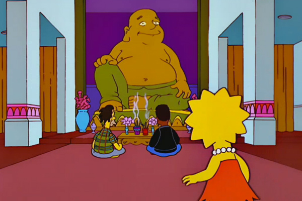 The Simpsons Buddhism
