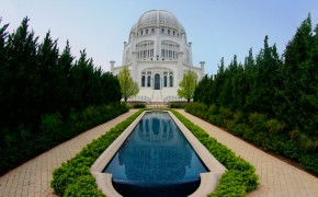 Baha'is Dedicate New Welcome Center at America's Only Baha'i House of Worship