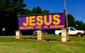 Dispute in Texas over Jesus Sign