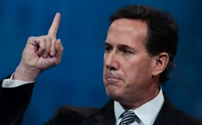 Presidential Candidate Rick Santorum Will Not Recognize Gay Marriages, Even if They're Legal