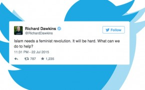 "Atheist Richard Dawkins' #tweetfail ""Islam Needs a Feminist Revolution"""